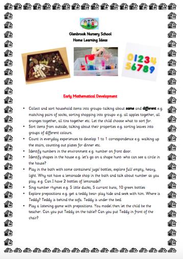 Early Mathematical Development pg 1