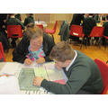 Children and parents working together on Grammar