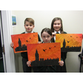 Year 5 and 6 developing their Art skills