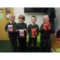 Prize Winners from Year 3 and 4.