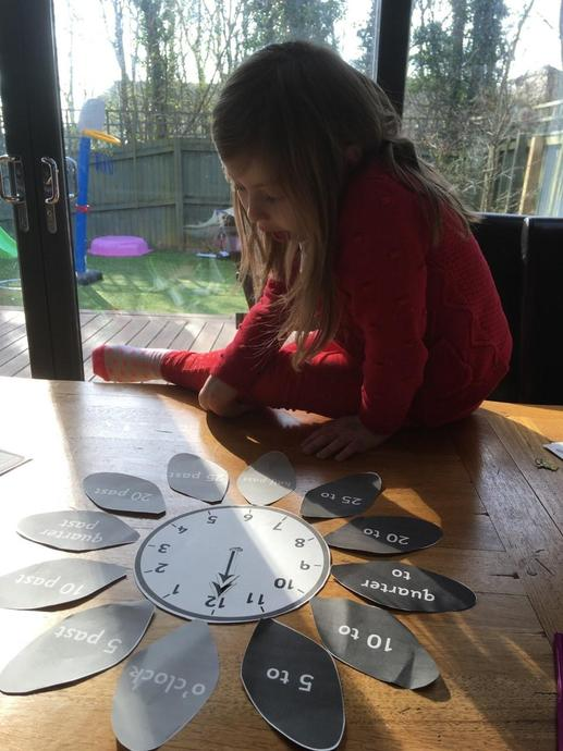 Super work on telling the time