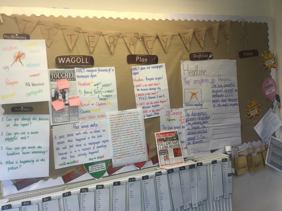 Miss Binstead Literacy - Newspaper report