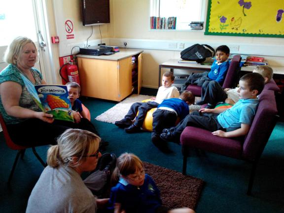 storytime is time to relax after the fun