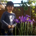 Resa wanted to share his favourite flower.