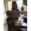 Josie has been baking delicious banana bread.
