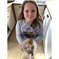 Payton has made some delicious looking ice cream