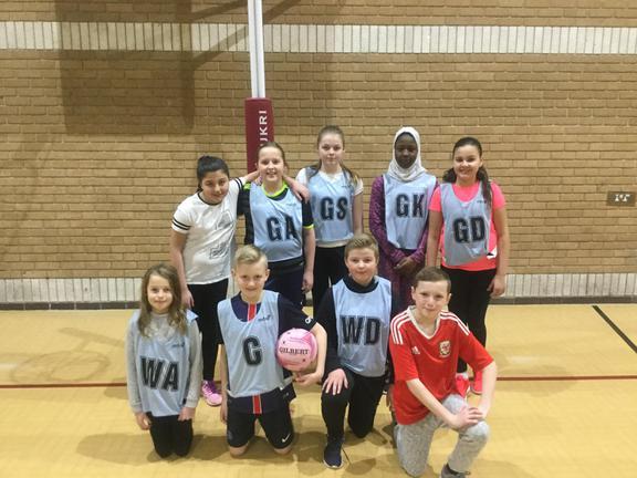 Glyncoed Mixed Netball Team 2017