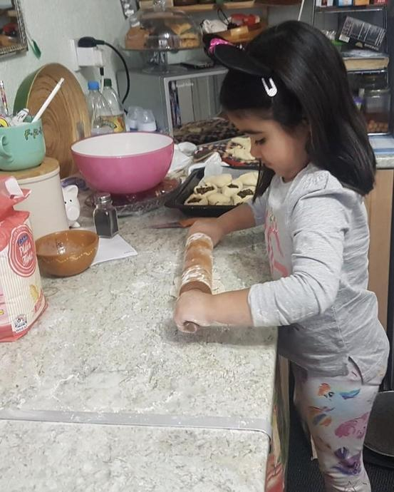 Baking some pastries