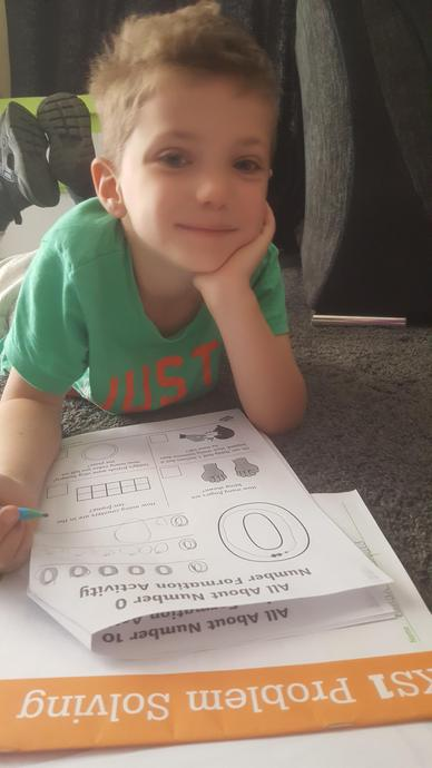 Practising my numbers! :)