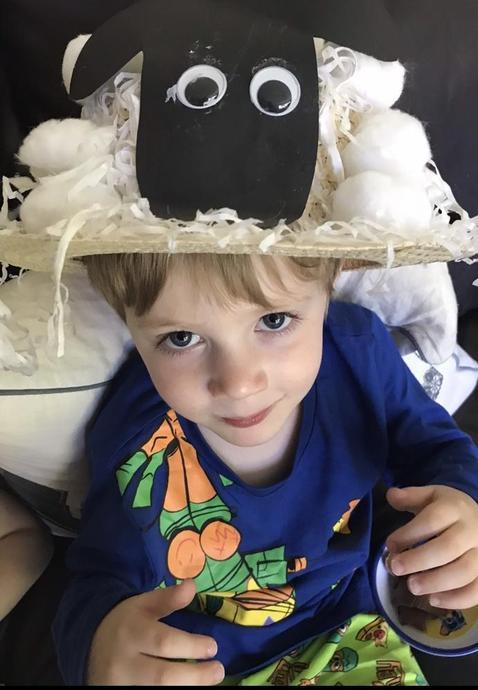 Easter hat making