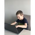 Zac has been logging into Google Classroom