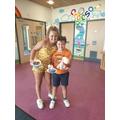 Noah & Megan met Iwan at the hub school