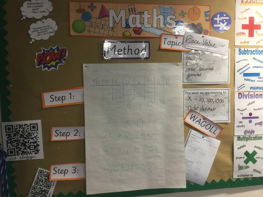 Spring week 2 Maths - multiplying by 10 100 1000