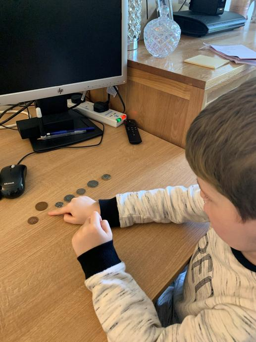 Counting the coins