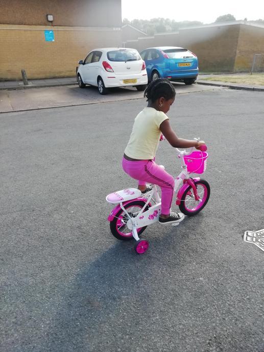 Enjoying time on my bike!