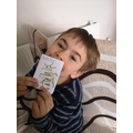 Lucas created a Bee Book for his home learning.