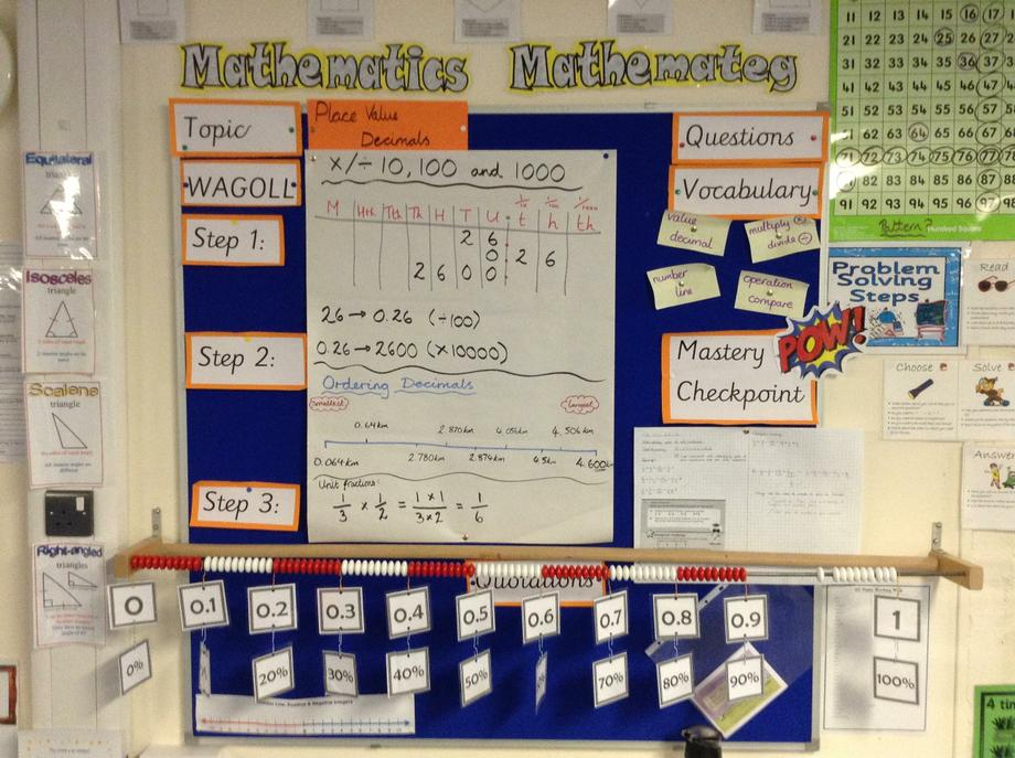 Numeracy - Place / Decimals / Fractions 6G