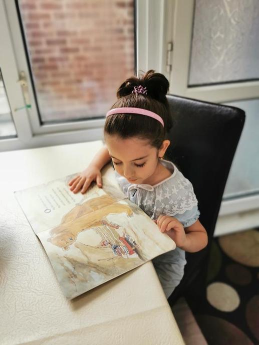 Enjoying some reading