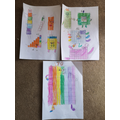 Lucas made these wonderful times table monsters