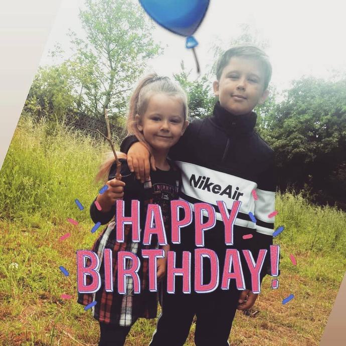 Celebrating my brother's birthday!