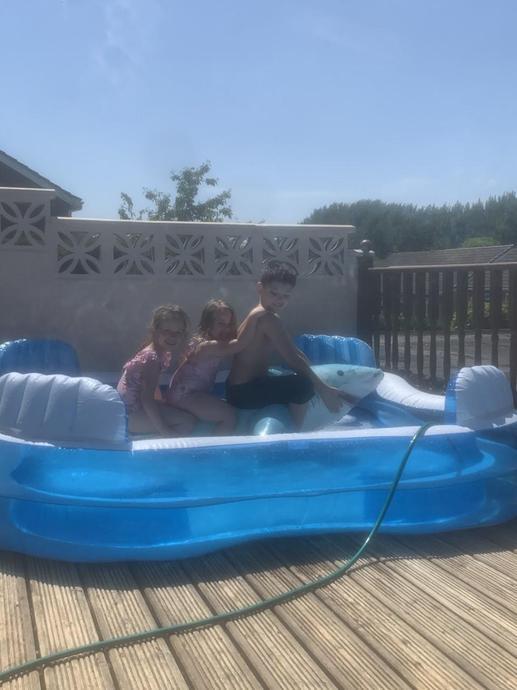 Fun in my swimming pool!