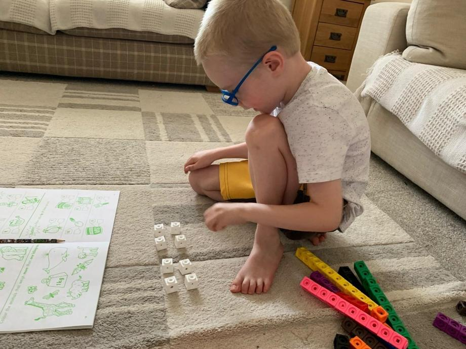 Using cubes to solve the problems
