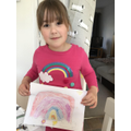 Wonderful rainbows from Sophia.
