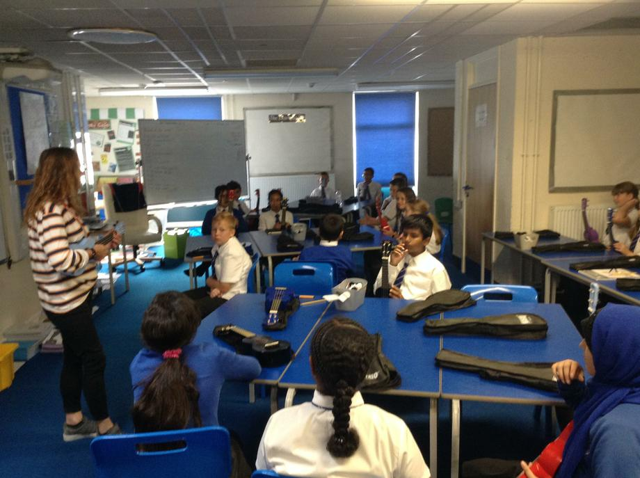 Year 6 Ukulele Lessons