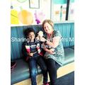 Ben saw Ms McTavish & Iwan at Pontprennau school.