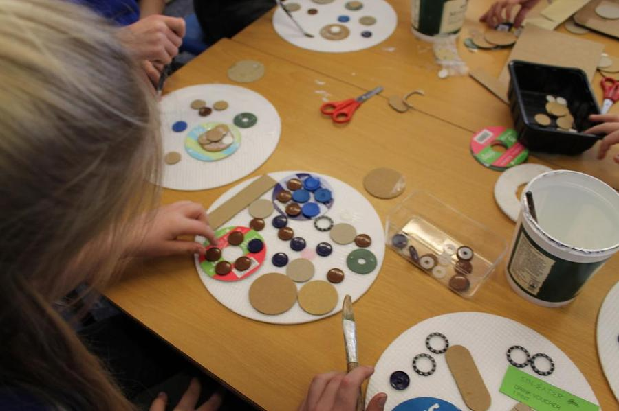 Creating moons out of recycled materials