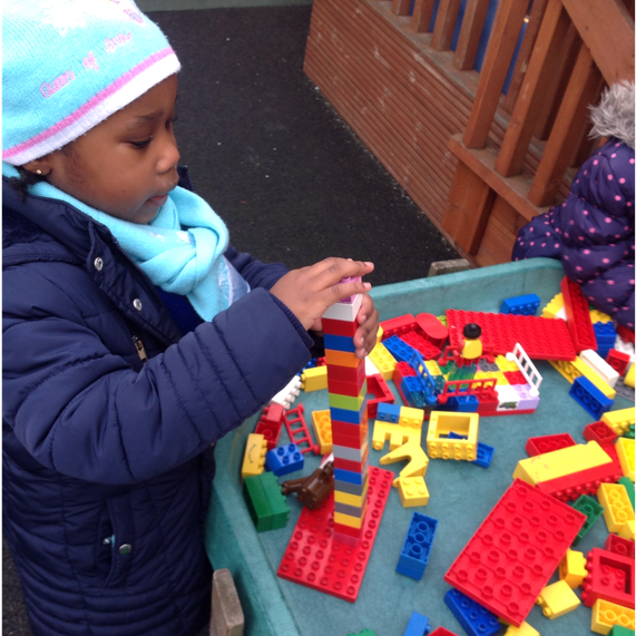 Describing the height of Duplo towers