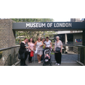 group tube trip to the Museum of London