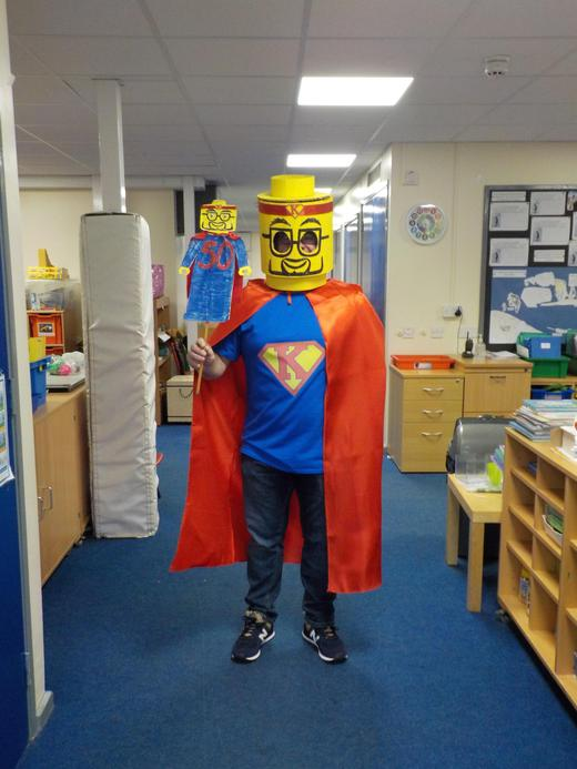 Our very own superhero!