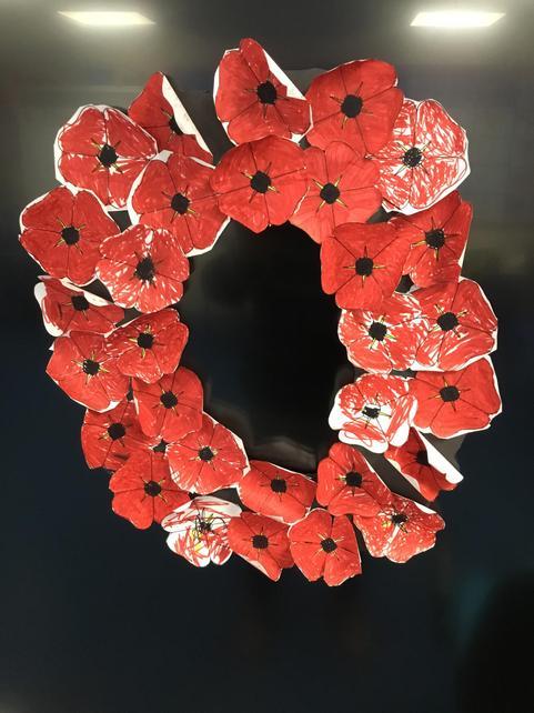 Robin's Poppy Wreath
