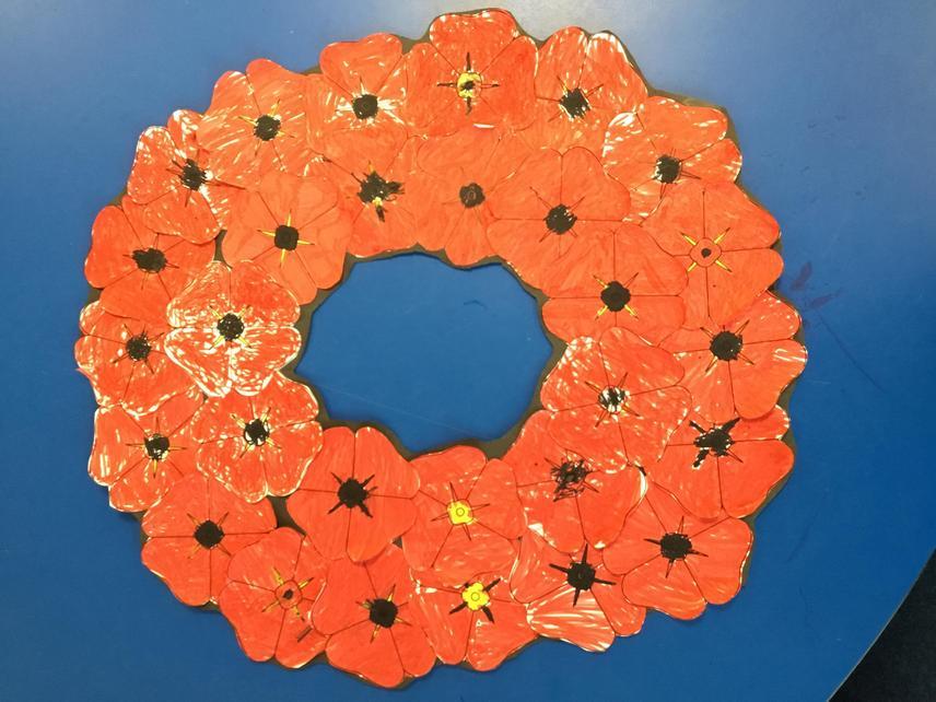 Sparrow's Poppy Wreath