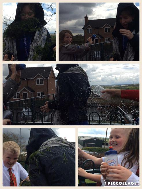 We made our own extreme weather reports!