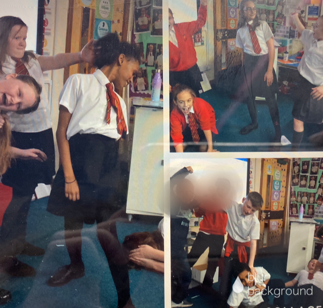 Acting out a Crime and Punishment Scene!