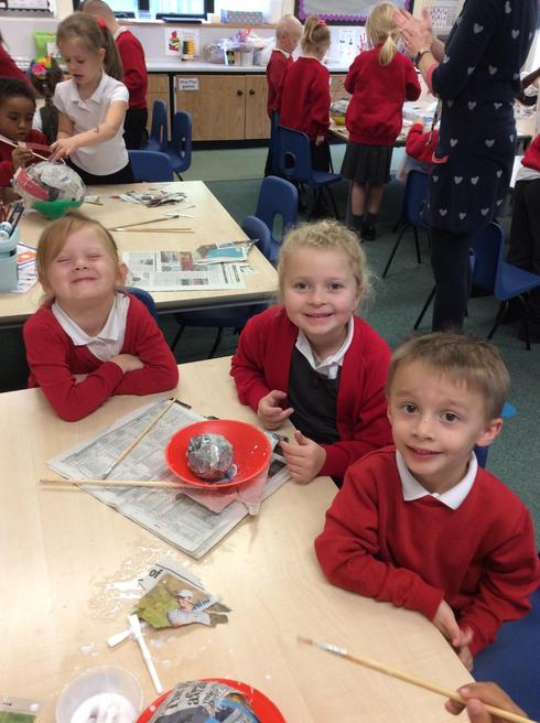 Team Mercury- making the smallest planet...