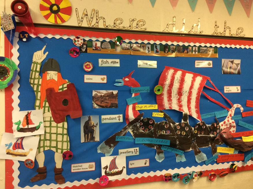 Our Viking display!