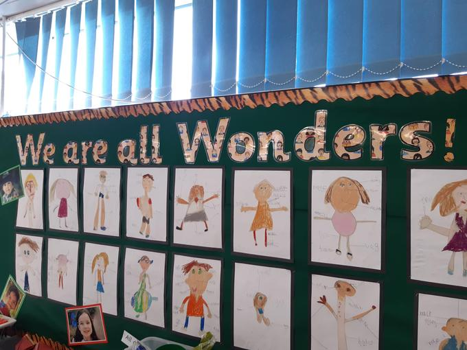 Our topic this term is We Are All Wonders