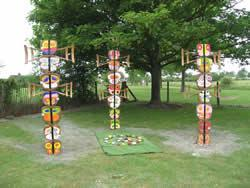 Painted Pebbles and Totem Poles can be found at number 9!