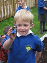 Sometimes when we are digging we find something quite unexpected!