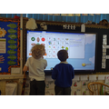 Using the class interactive screen