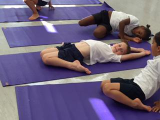 We love yoga.