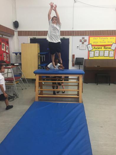 We really enjoyed our gymnastics time !