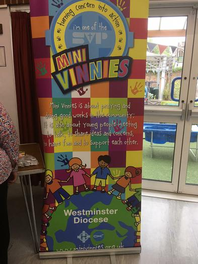 Westminster Mini Vinnies visited our school
