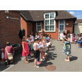 The Choir at the Summer Fair