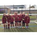 Girls' district football tournament runnersup 2018