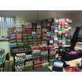 Our shoe boxes joined over nine thousand others!