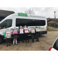 Thank you to Gosfield School for the mini bus.